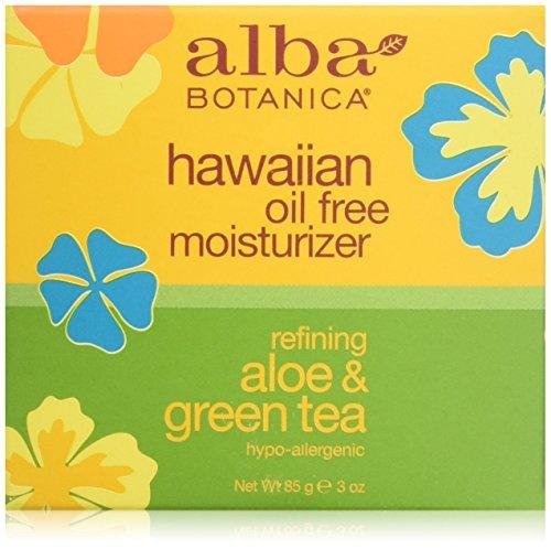 Alba Botanica: Natural Hawaiian Moisturizer Aloe & Green Tea, 3 oz (12 pack) by Alba Botanica